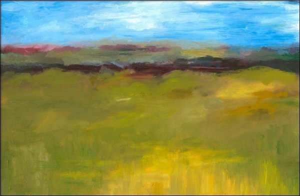 Michelle Calkins - Abstract Landscape - The ... Print