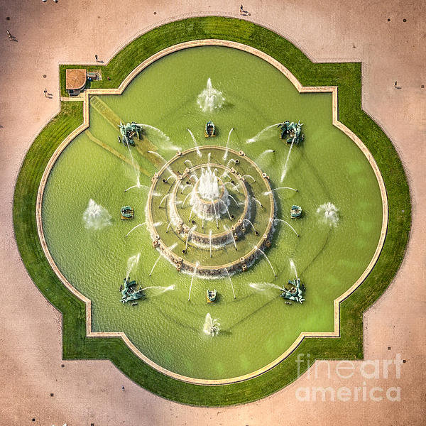 Adam Romanowicz - Buckingham Fountain From ... Print