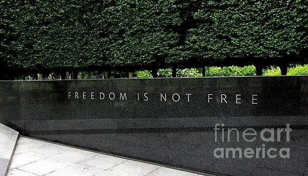 Allen Beatty - Freedom Is Not Free Print