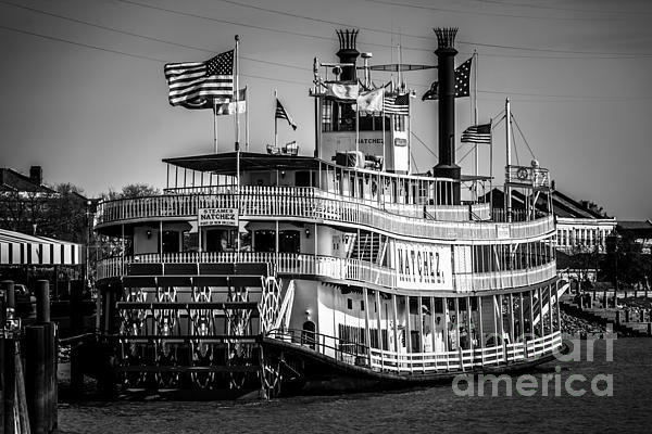 Paul Velgos - Picture of Natchez Steamb... Print
