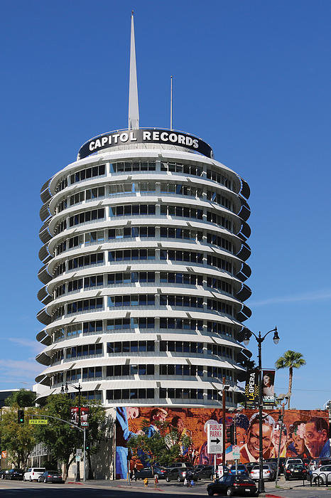 Bill Jonas - Capitol Records Building Print