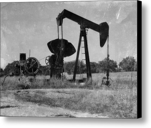 Todd and candice Dailey - East Texas Pump Jack 3 Print