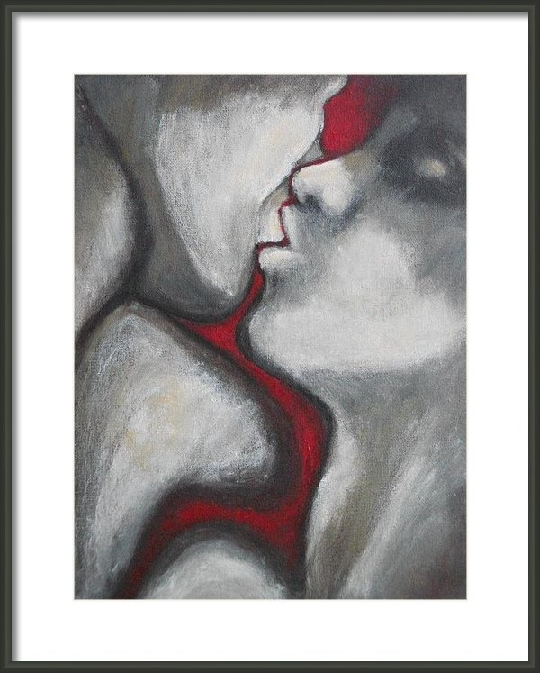 Carmen Tyrrell - Lovers - Kiss5 Print