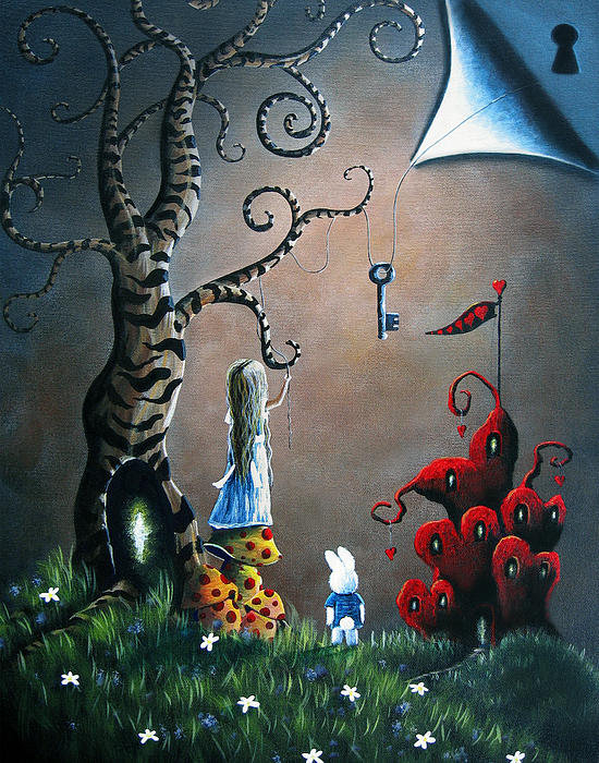 Shawna Erback - Key To Wonderland by Shaw... Print