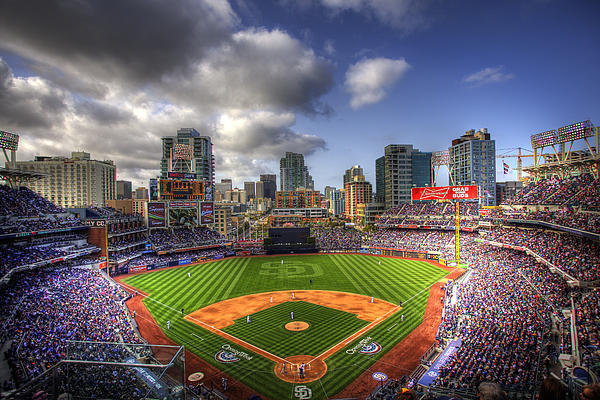 Shawn Everhart - Petco Park Opening Day Print
