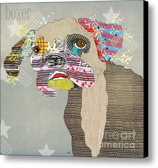Brian Buckley - The Boxer Dog Print