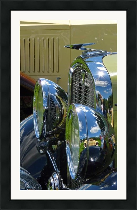 Garth Glazier - 1932 Auburn 12-160 Speeds... Print