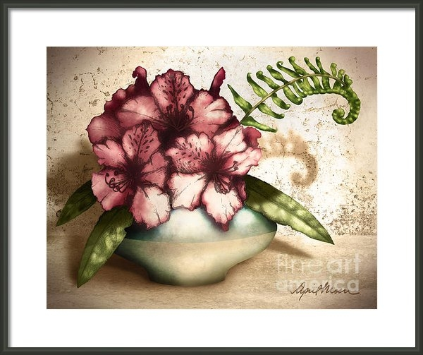 April Moen - Rhododendron I Print