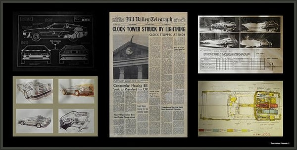 Tommy Anderson - Back to the Future DeLore... Print