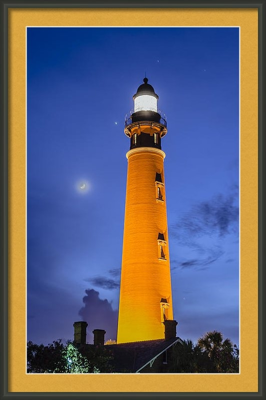 Alan Marlowe - Ponce de Leon Lighthouse Print