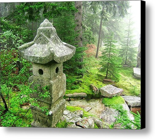 Edward Fielding - Peaceful Japanese Garden ... Print