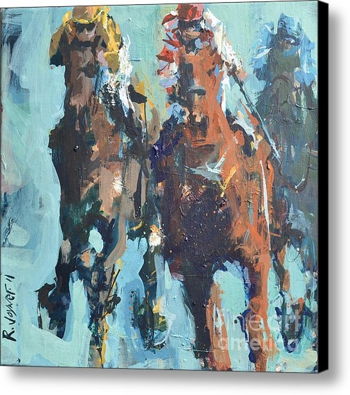 Robert Joyner - Contemporary Horse Racing... Print