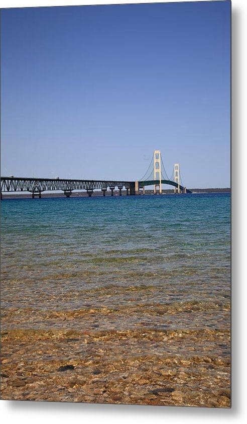 Frank Romeo - Mackinac Bridge Print