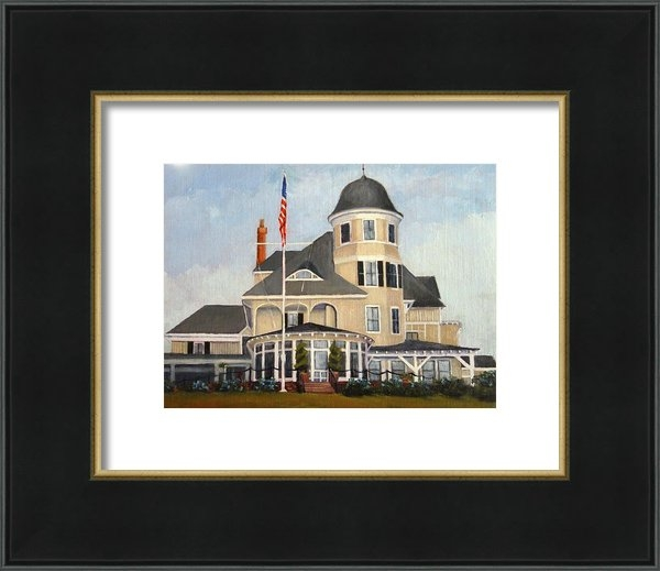 Betty Ann Morris - Castle Hill Inn Newport R... Print