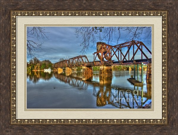 Reid Callaway - 6th Street Trestle Bridge Print
