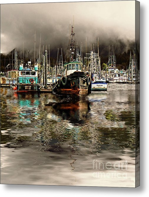 Scarlett Images Photography - Foggy morning in Sitka So... Print