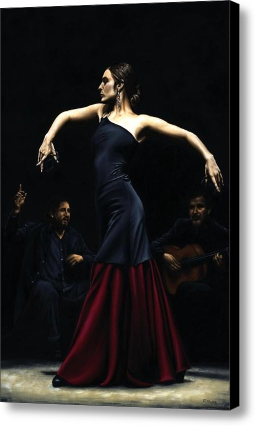 Richard Young - Encantado por Flamenco Print