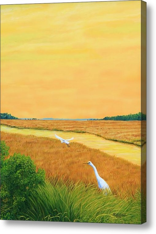Jim Ziemer - Marshes of Glynn Print