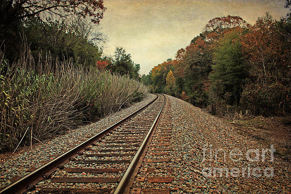 Lisa Holmgreen - Autumn Around the Bend Print