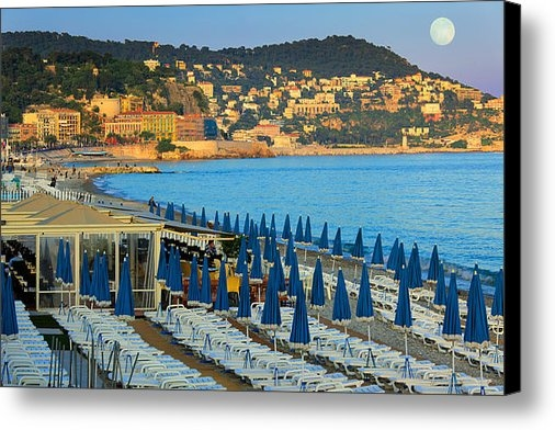 Inge Johnsson - Riviera Full Moon Print