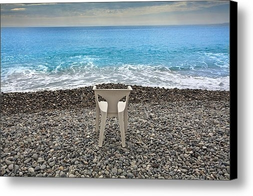 Al Hurley - Beach in Nice  Print