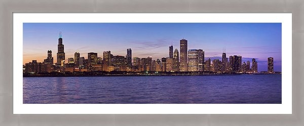 Donald Schwartz - Chicago Summer Night Print