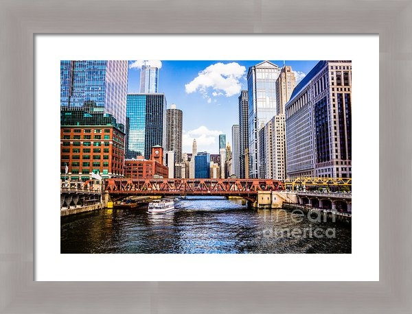 Paul Velgos - Chicago Cityscape at Well... Print