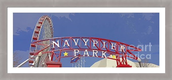 Mary Machare - Navy Pier Print