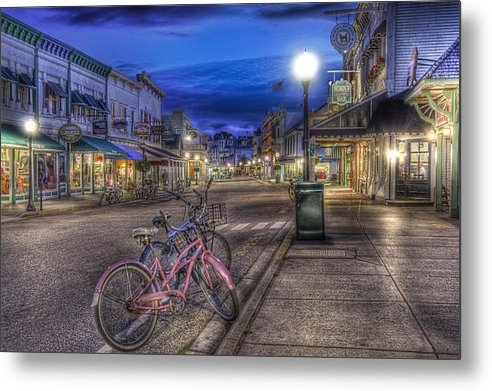 Leo Cumings - Mackinac Island City by N... Print