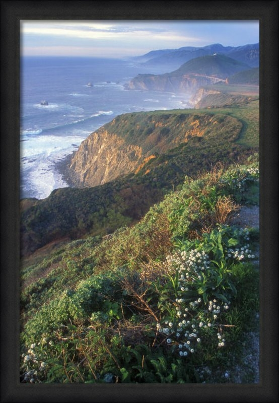 John Burk - Big Sur Coast Vista Print