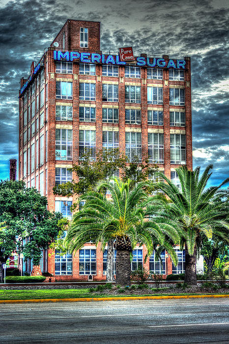 David Morefield - Imperial Sugar Factory Da... Print