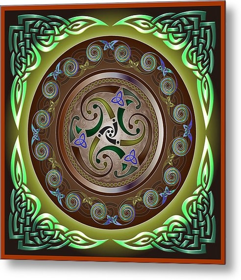 Ireland Calling - Celtic pattern Print