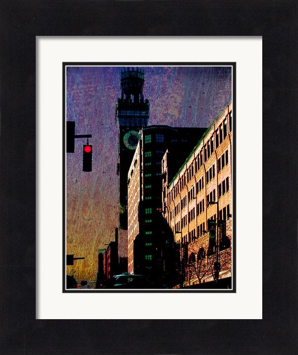 Ev Cabrera Marinucci - Emerson Tower in Baltimor... Print