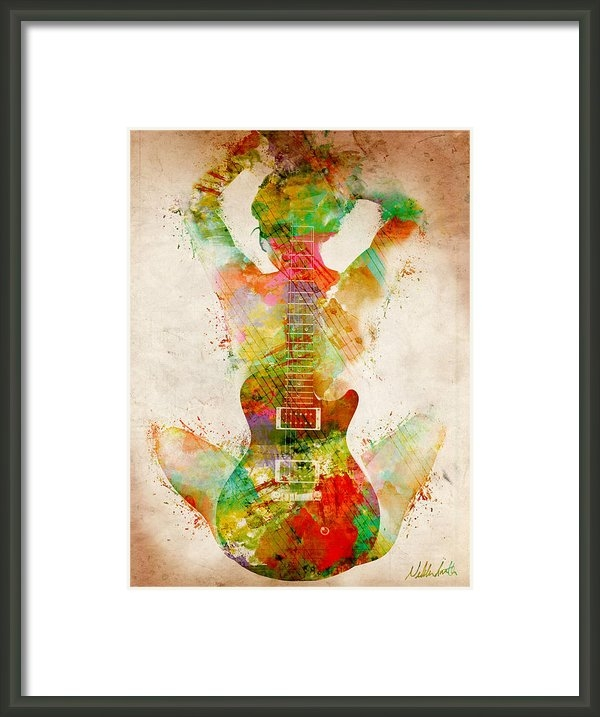Nikki Smith - Guitar Siren Print