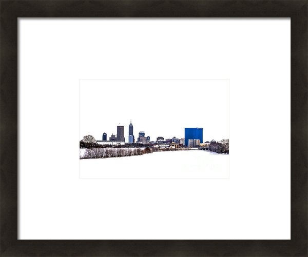 David Haskett - Indianapolis White Out Print