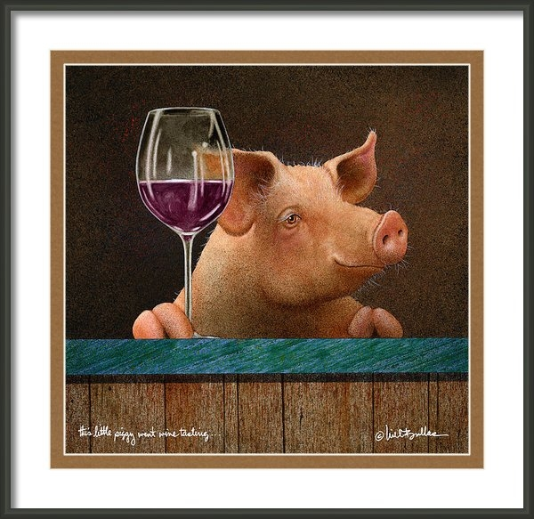 Will Bullas - This Little Piggy Went Wi... Print