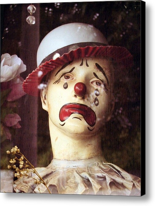 Brande Barrett - Sad Clown Print
