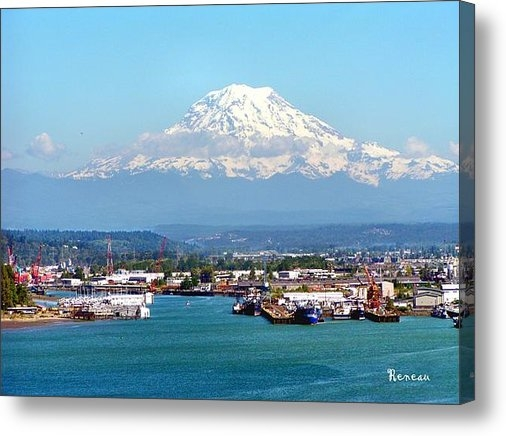 Sadie Reneau - MAJESTIC MT RAINIER and P... Print
