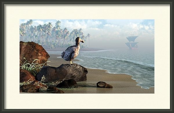 Daniel Eskridge - Dodo Afternoon Print