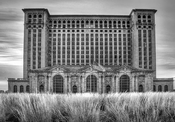 Bryan Levy - Michigan Central Station Print