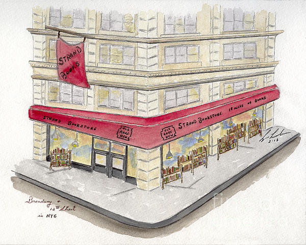 Lynn Lieberman - The Strand Bookstore Print