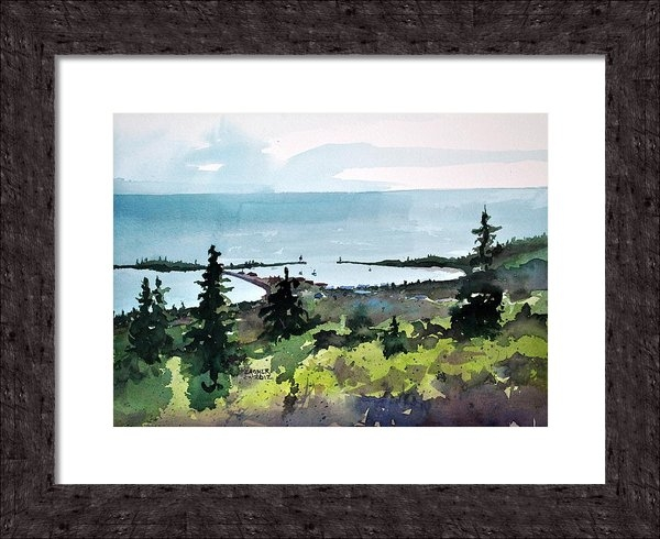Spencer Meagher - Grand Marais From Pincush... Print