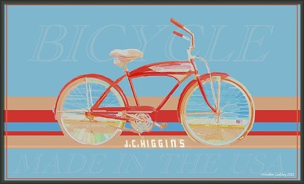 Heather Saulsbury - J.C. Higgins Bicycle Print