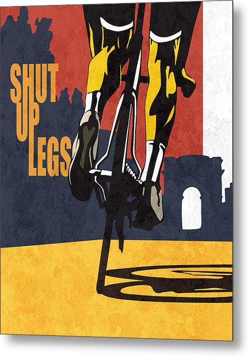 Sassan Filsoof - Shut Up Legs Tour de Fran... Print