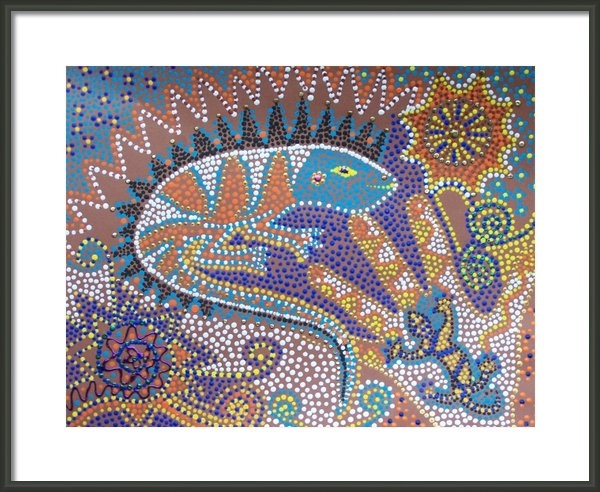 Vijay Sharon Govender - Lizard Dreaming Print