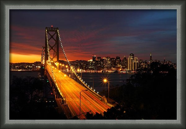 Pierre Leclerc Photography - San Francisco Bay Bridge ... Print