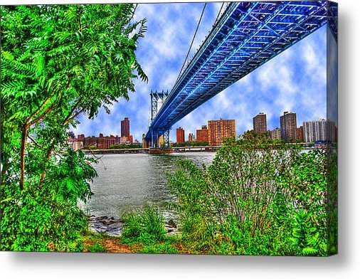 Randy Aveille - Under the Bridge Print