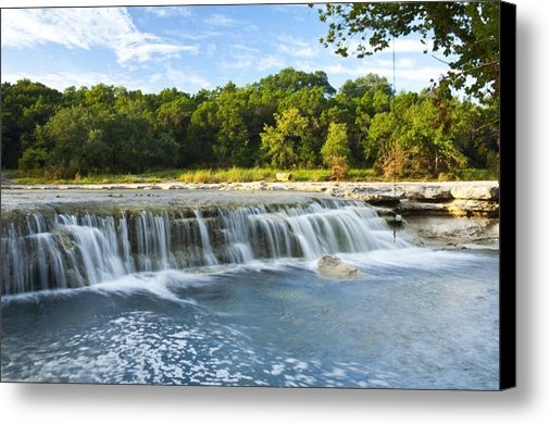 Mark Weaver - Waterfalls At Bull Creek Print