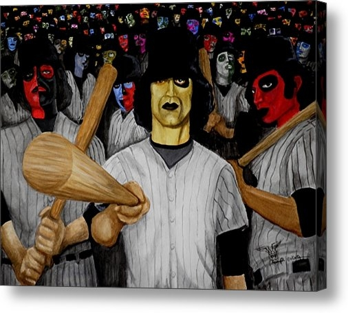 Al  Molina - Furies up to Bat Print