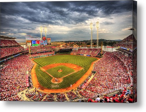 Shawn Everhart - Great American Ballpark Print